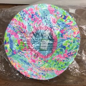 Lilly Pulitzer Accessories - NWT Lilly Pulitzer Beach Hat in Catch the Wave